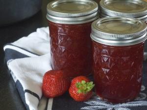confiure de fraises